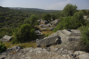Nekropolbereich, Korykos.