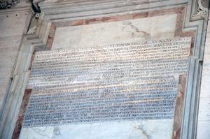 Kommemoration einer Stiftung Papst Gregors II. für die Kirchenlampen, Petersbasilika