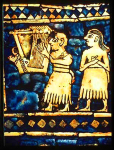 Musicians on the Standard of Ur